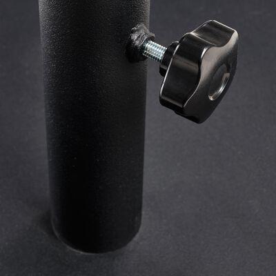 pied de parasol en métal 28kg noir-Aups