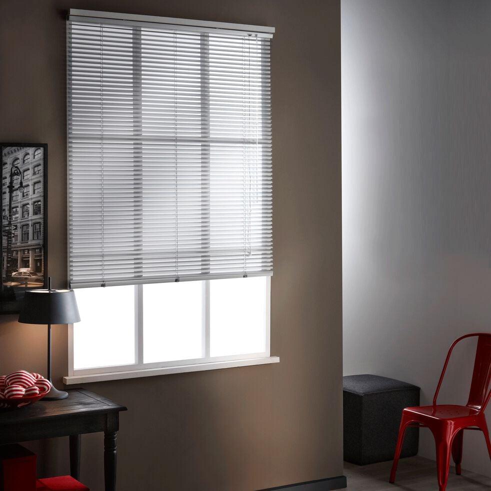 Store vénitien en aluminium - gris 100x175cm-VENITIEN AL