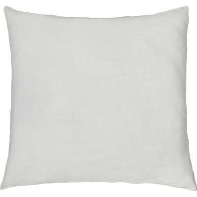 Coussin de sol en lin lavé blanc ventoux 70x70cm-VENCE