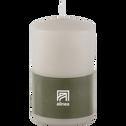 Bougie cylindrique gris borie-HALBA