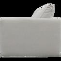 Élément de canapé 1.5 places droit modulable en tissu beige roucas-AUDES