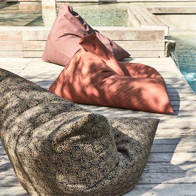 Pouf de jardin 120x110cm - marron rustrel-ROSSI