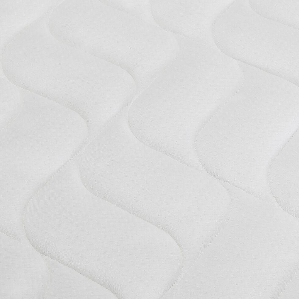 Matelas en mousse gris anthracite 160x200cm H24cm-MIRABEAU