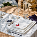 Assiette à dessert en porcelaine qualité hôtelière-Queen