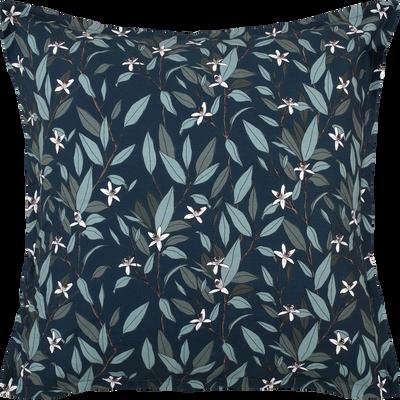 Lot de 2 taies oreiller 63x63cm motifs fleurs d'oranger-AZALEE