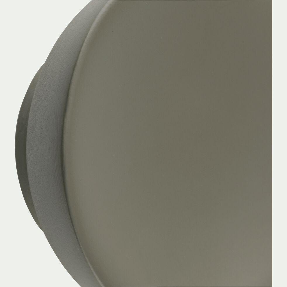Patère ronde en bois - vert cèdre D8cm-PENO