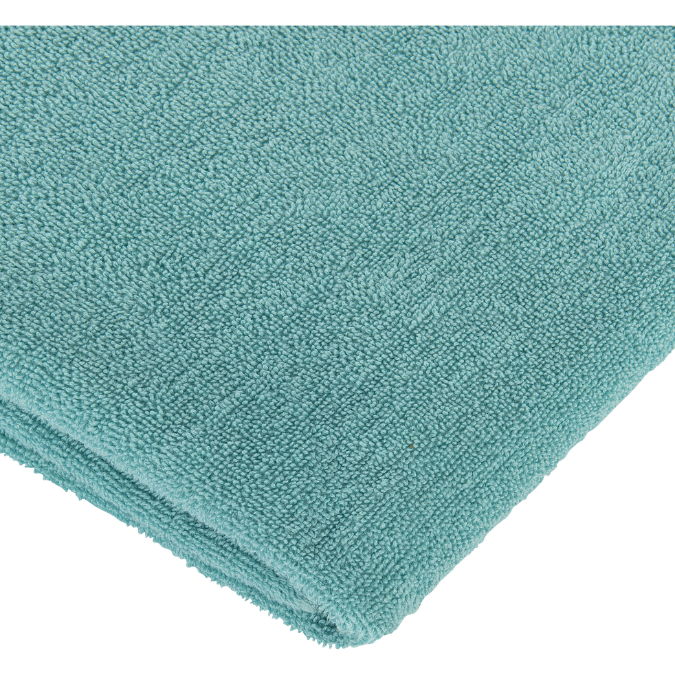Drap de douche 65x125 cm bleu turquoise-LYNA