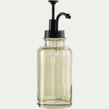 Distributeur de savon en verre - vert garrigue-MIMOSA