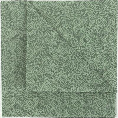 Lot de 20 serviettes en papier décoré vert cèdre 33x33cm-SAZE