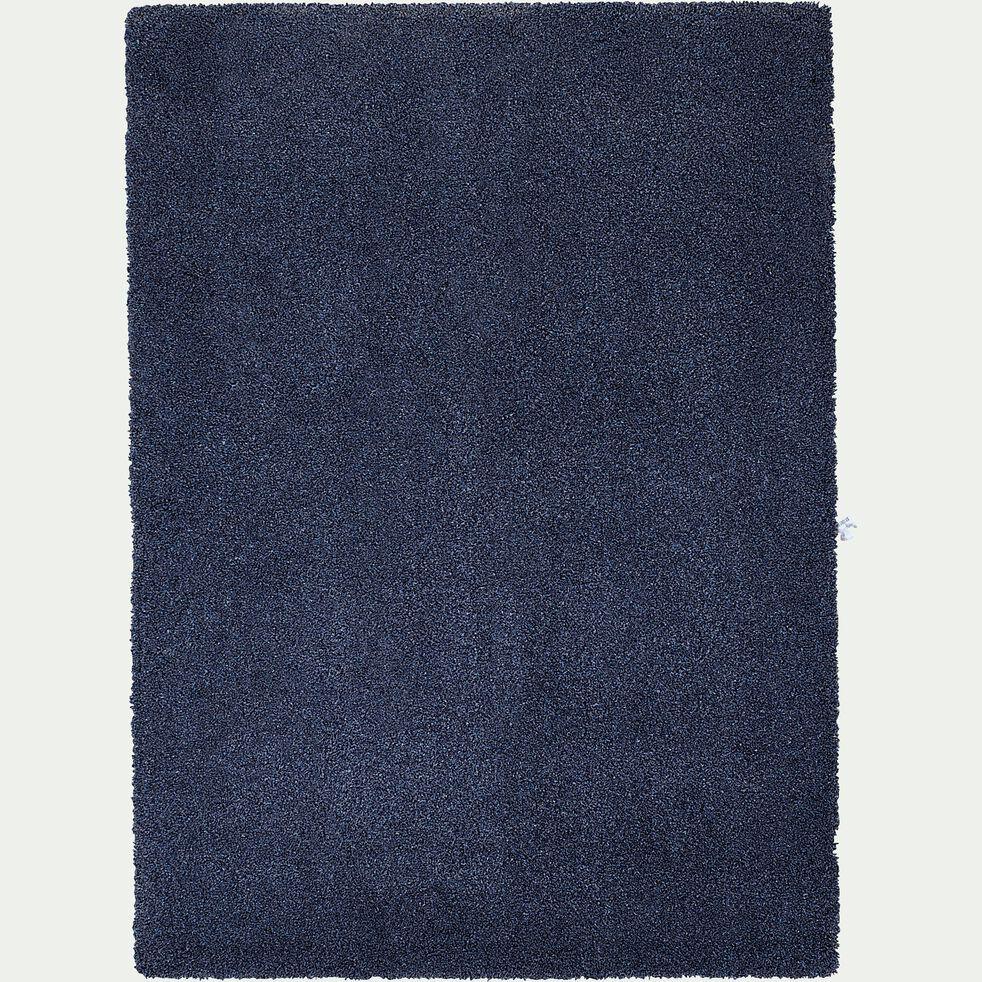 Tapis mèches longues Bleu 120x170 cm-LOUNA