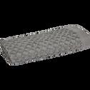 Serviette invité en coton 30x50cm gris restanque-ETEL