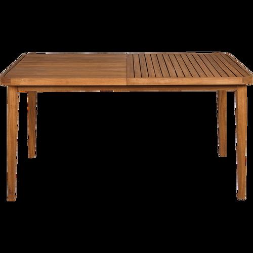 Table de jardin pliante en acacia huil 2 places youk tables de jardin alinea - Table jardin largeur cm paris ...