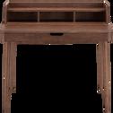Bureau en chêne teinté avec plateau relevable-KINNA