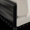 salon intérieur/extérieur en aluminium blanc (4 places)-ALEX