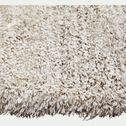 Tapis dégradé imitation fourrure - gris 120x170cm-mala