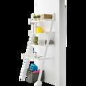 Étagère bureau Blanc en forme d'échelle-TOUDOU