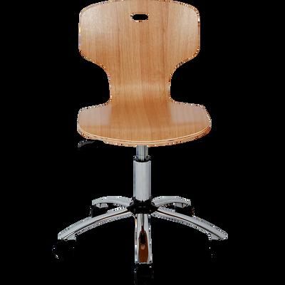 Chaise de bureau enfant finition érable-STAR