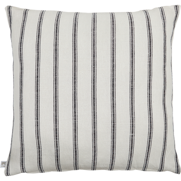 Coussin lin et coton à rayures 65x65 cm-PASSO