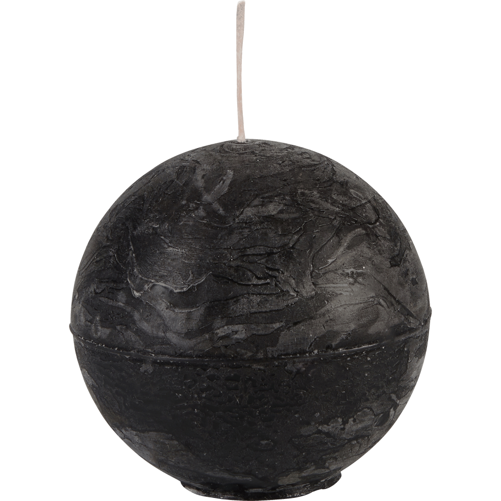Bougie boule gris calabrun-BEJAIA