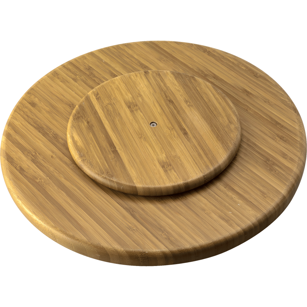 plateau tournant en bambou litan plateaux alinea. Black Bedroom Furniture Sets. Home Design Ideas