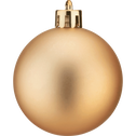 Lot de 33 décoration de Noël doré-Peire