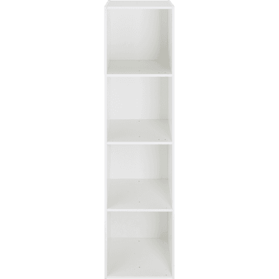 Structure 4 cases en bois blanc H 136,10 cm-ZACCHARIE