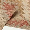 Tapis tissé en jute et coton multicolore 160x230cm-KAIS