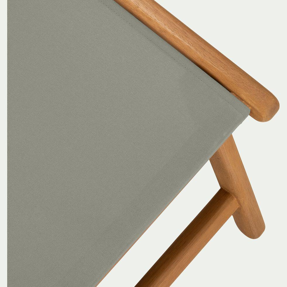 Repose pieds pour chaise udina - vert olivier-UDINA