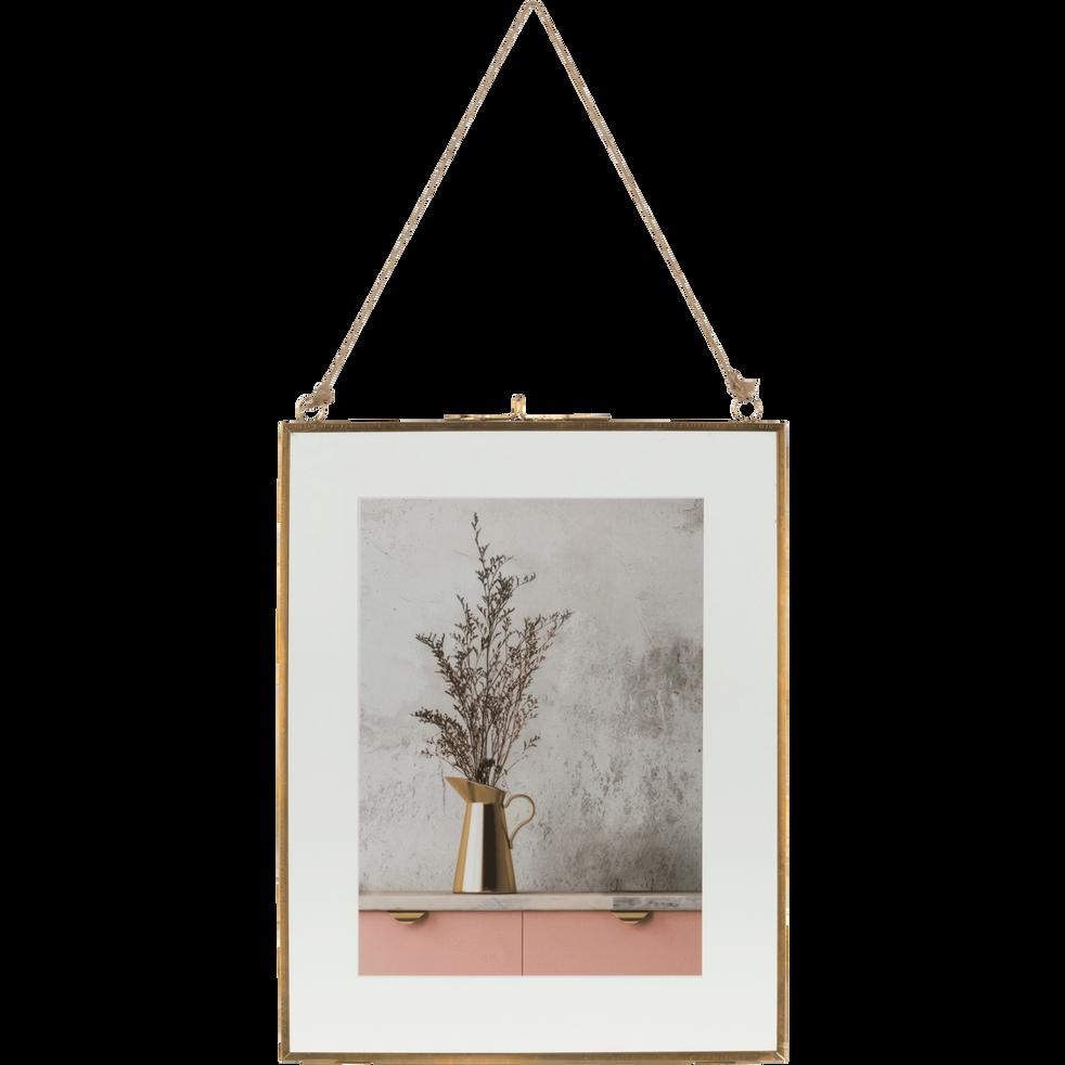 cadre entre deux verres 23x19 cm arson 19x23 cm. Black Bedroom Furniture Sets. Home Design Ideas
