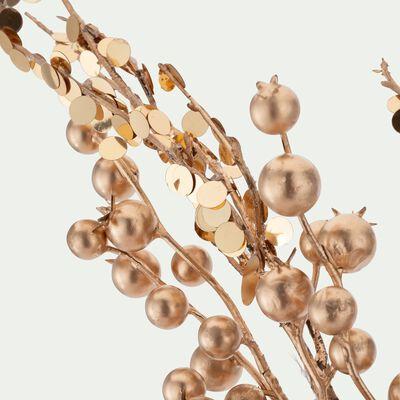 Branchage artificiel doré L65cm-SIEBELLA