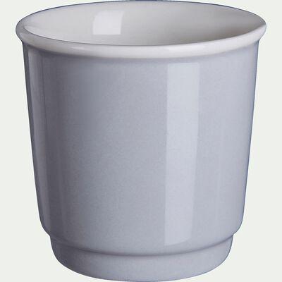 Tasses à expresso - gris borie 9cl-CAFI