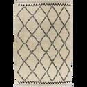 Tapis à franges inspiration berbère 160x230cm-ALINE