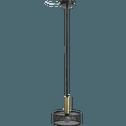Suspension en métal ajouré noir et doré D20cm-SOLVEIG