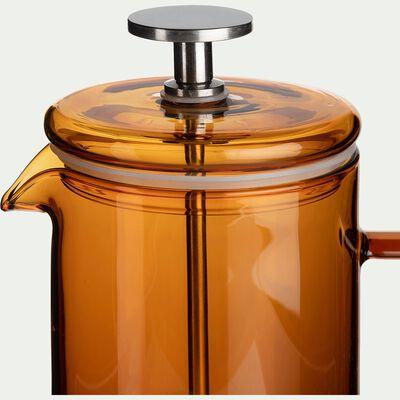 Cafetière à piston en verre ambré 35cl-SABIN
