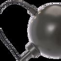 Lampadaire en métal vert cèdre H126cm-BALL