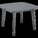 Table de repas carrée gris restanque - 4 places-SUZIE