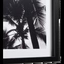 Image encadrée noir et blanc 39x65cm-CIEL
