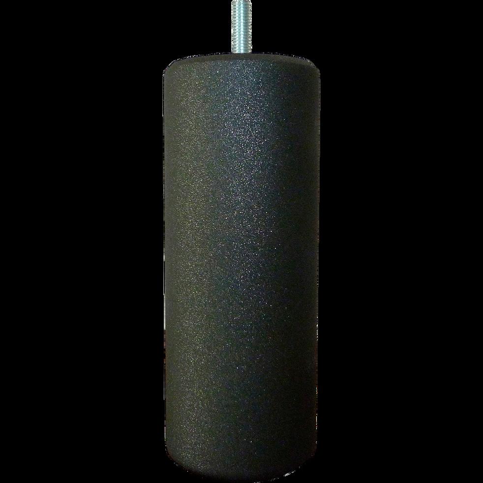 Pieds de sommier noirs H20 cm - jeu de 4-SCINTILLANT
