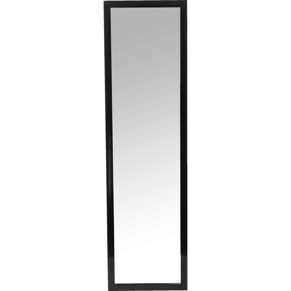 Miroir rectangulaire noir 30x120cm chipi d co alinea for Miroir rectangulaire noir
