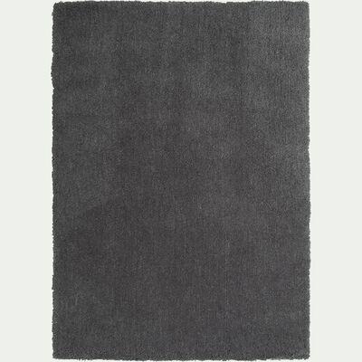 Tapis shaggy gris restanque 120x170cm-CELAN