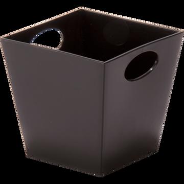 Panier noir 12x11,5cm-Fluo