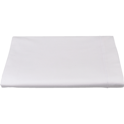 Drap plat en coton blanc 270x300cm-CALANQUES