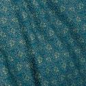 Lot de 2 taies d'oreiller 50x70cm en satin motif fleurs de jasmin-SOUN
