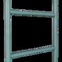Porte-serviettes échelle en bambou bleu clair H190cm-CIRO