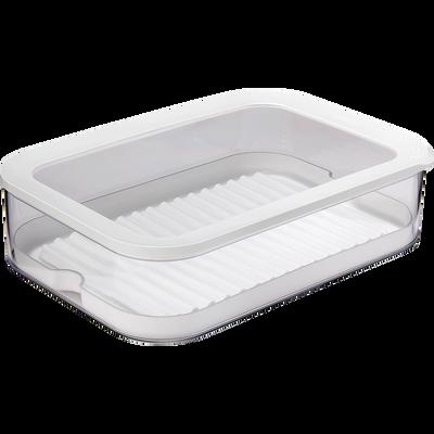 Boîte à charcuterie en plastique 3 niveaux-MODULA
