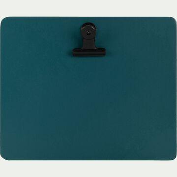 Porte-bloc format paysage Bleu niolon-SORYS