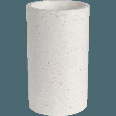 Vase en terrazo beige H25,5 cm-NETO
