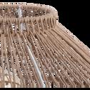Lampe à poser en rotin naturel D28xH30cm-NOELLIA