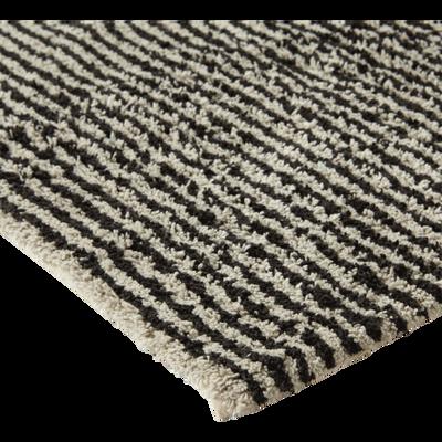 Tapis de bain 50x80cm à rayures-MARBRE