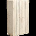 Armoire 2 portes battantes en pin massif-Woody wood